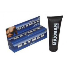 Maxman Creme for male sex delay